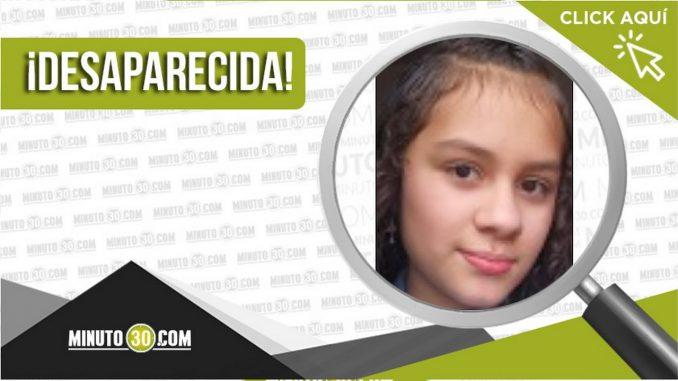 Saray Valentina Grajales Correa desaparecida