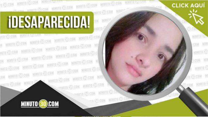 Leidy Johana Vélez Hernández desaparecida