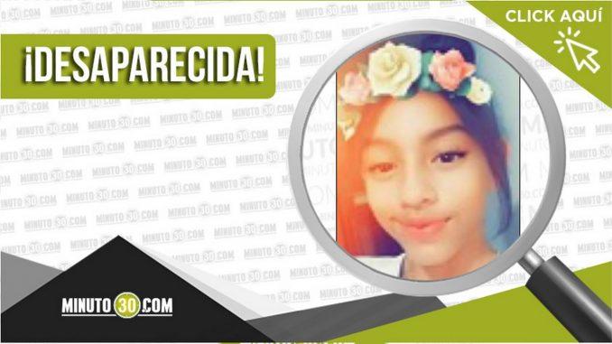 Sharik Ximena Berrío Moscoso desaparecida