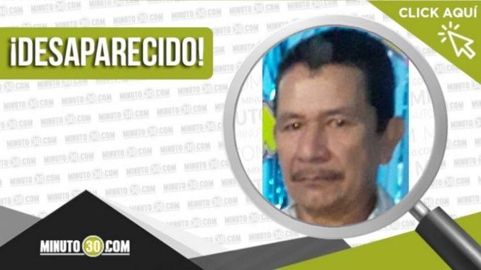 Héctor Danilo Hoyos Vega desaparecido