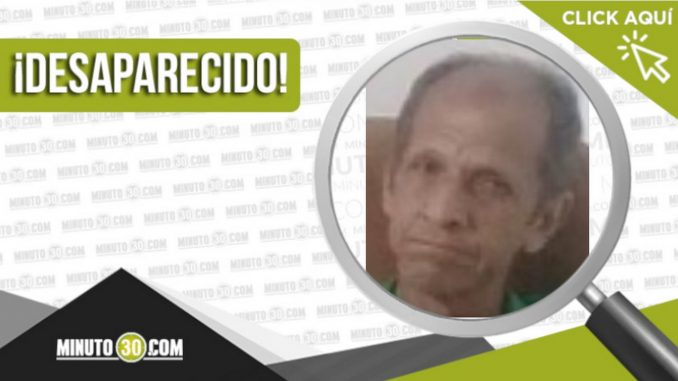 Vidal Antonio Tangarife Gil desaparecido