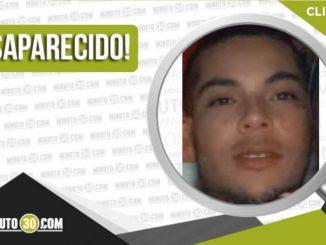 Cristian Alejandro Miranda Sánchez desaparecido