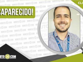 Alejandro Botero Álvarez desaparecido
