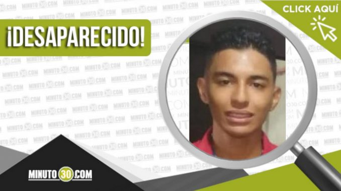 El joven David Román Escobar desapareció en Medellín