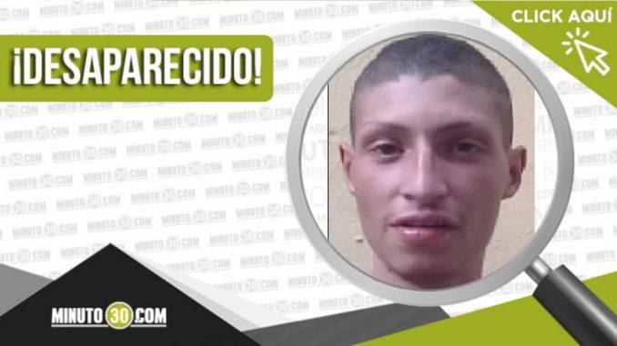 William Mauricio Vera Gómez desaparecido
