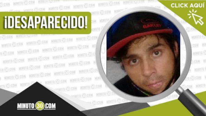 Esteban Saldarriaga desaparecido