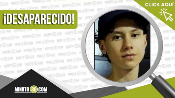 Daniel Bustamante Naranjo desaparecido