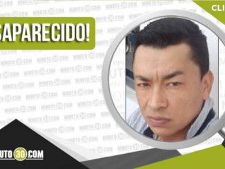Dany Arley Bran Pino desaparecido