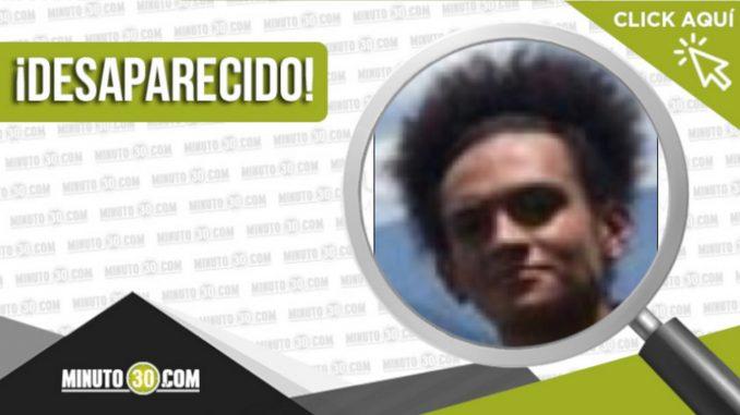 Alexander Álvarez Carmona desaparecido