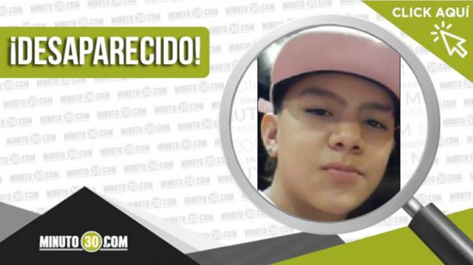 Alejandro López Quintana desaparecido