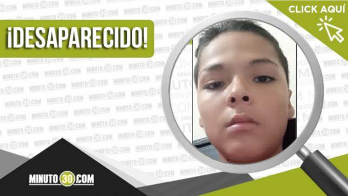 Óscar Mauricio Rodríguez Grimaldos desaparecido
