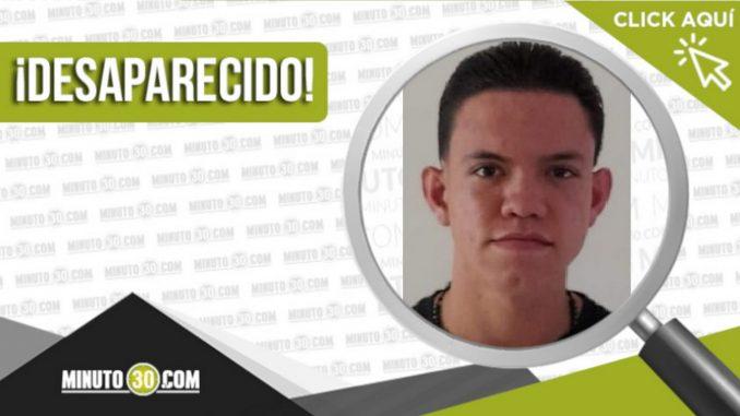David Rodríguez Restrepo desaparecido