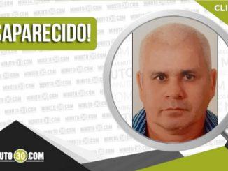 José Rebelio López Rivera desaparecido