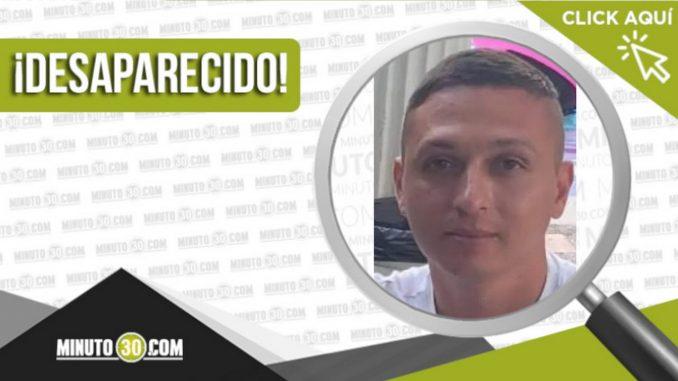 John Brandon Franco Aristizábal desaparecido
