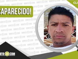 Juan Carlos Patiño Alzate desaparecido