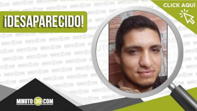 Richard Alexander González Herrera desaparecido