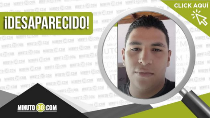 Felipe Gómez Fonnegra desaparecido