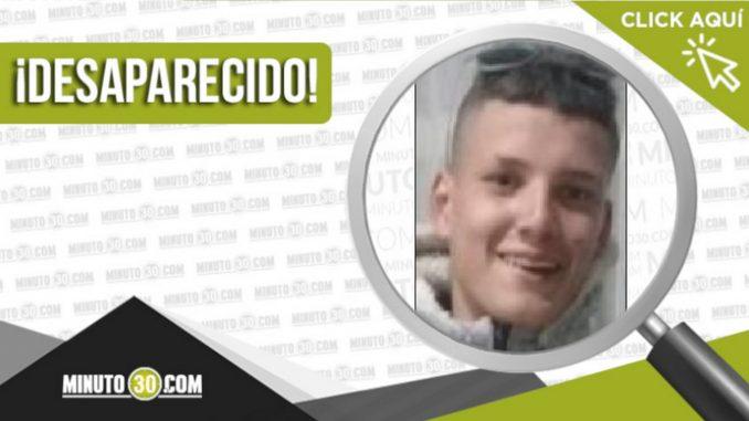 Andrés Felipe Getial Rivera desaparecido