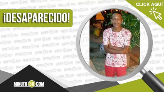 Brayan David Mendoza desaparecido