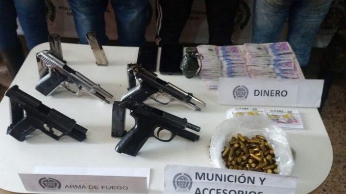 Cayeron dos presuntos integrantes del GAO-r Jaime Martínez