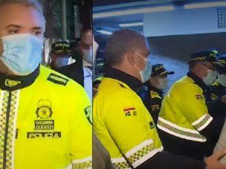 Duque se vistió de policía y dijo que hay fallas judiciales