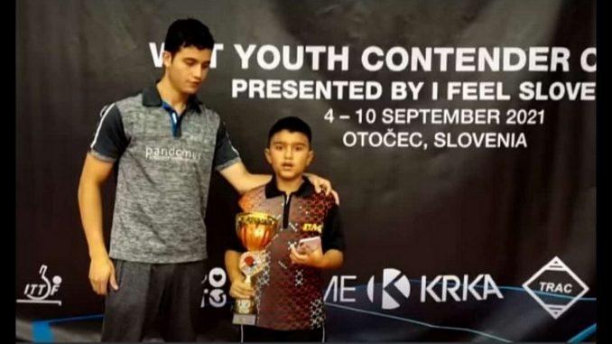 Orgullosos están en Rionegro de Emanuel, es el nuevo campeón mundial de Tenis de Mesa en Eslovenia