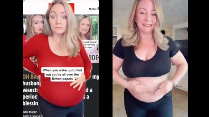 ¡Milagro! A sus 62 años quedó embarazada