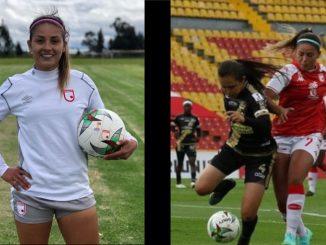 Novia de 'Epa Colombia' se lesionó durante un partido de fútbol ante Atlético Nacionalb