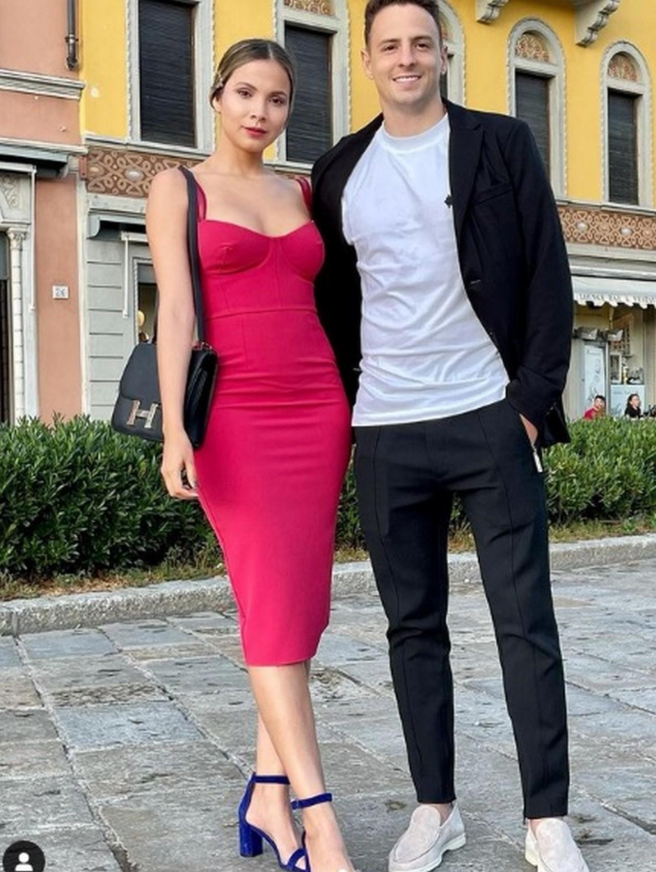 esposa del futbolista Santiago Arias Karin Jimenez1