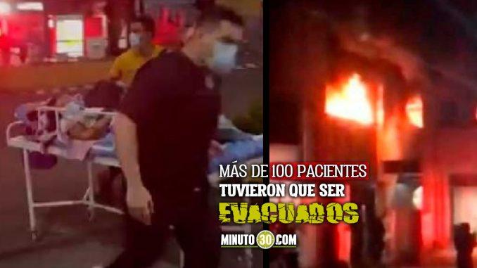 Incendio en Hospital Departamental de Villavicencio dejó dos muertos