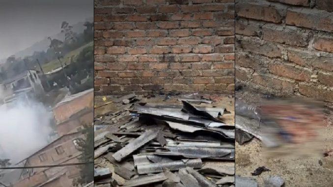 Explosión en medio de un operativo de desalojo en Popayán deja cuatro heridos