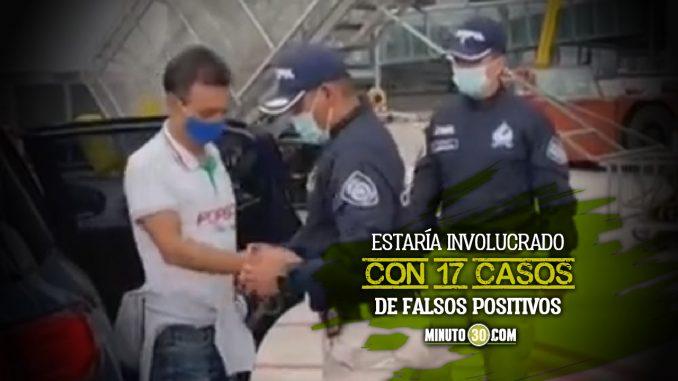 Alias 'El Zarco' es extraditado de España a Colombia