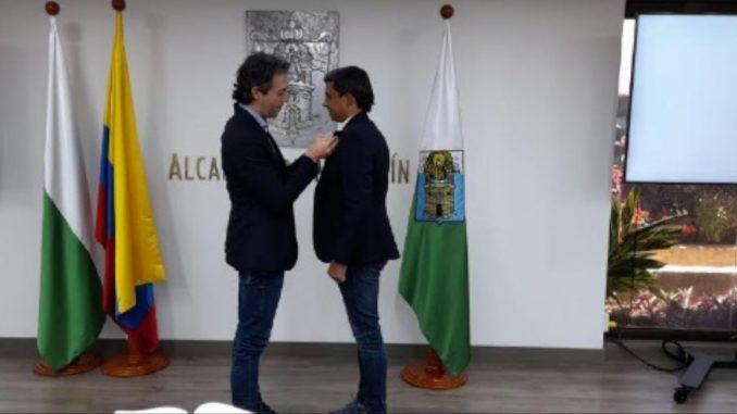 ¡Es oficial! Deninson Mendoza ya se posesionó como el gerente de Telemedellín