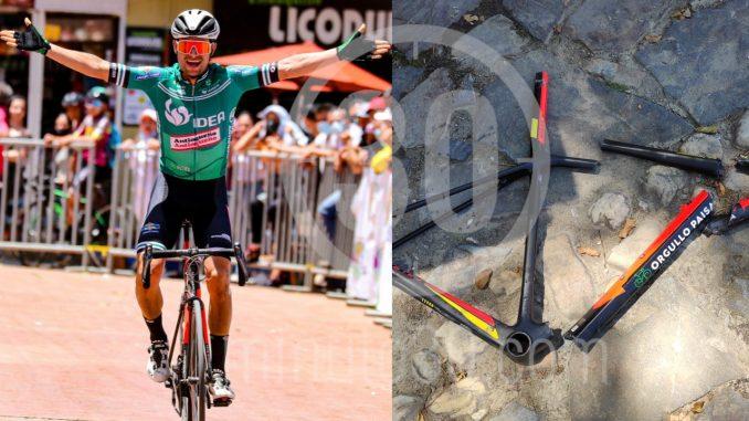 Entregan parte médico del ciclista que resultó gravemente lesionado tras accidente en la Vuelta Antioquia