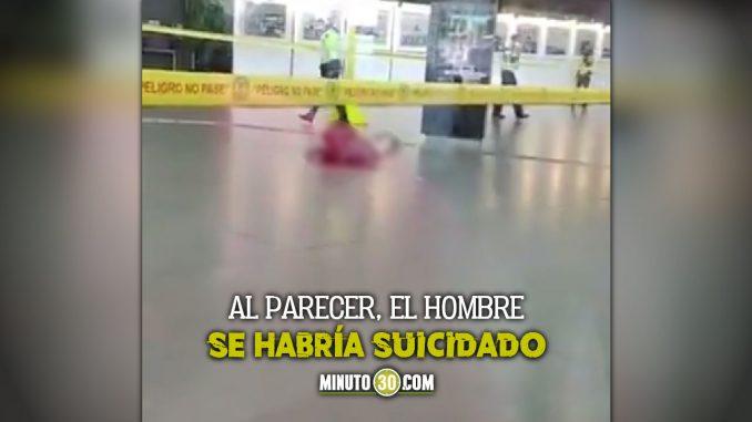 Hombre se habría suicidado en el aeropuerto El Dorado