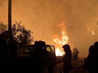 incendio malaga bomberos murio