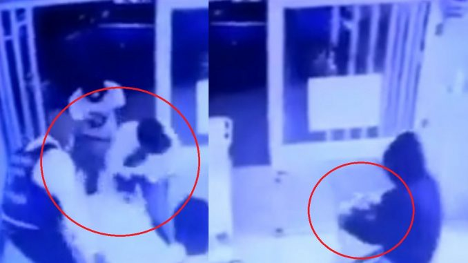 Ladrones en hospital se robaron la caja fuerte de Urgencias