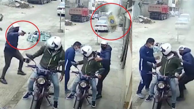 """""""Bultoman"""", el obrero que frustró robo en Perú por cemento"""