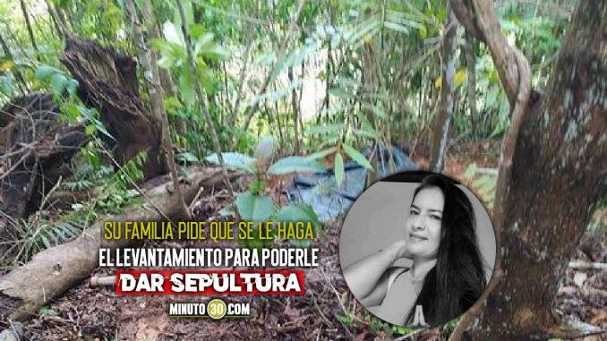Denuncian que no le han hecho el levantamiento a Lina Maldonado