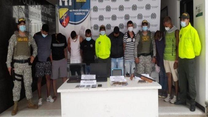 Cayeron ocho presuntos integrantes de 'Los 27'