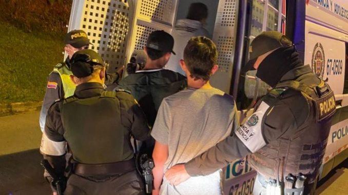 16 capturados y 190 comparendos, entre el balance de seguridad en Manizales