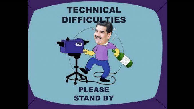 Se cayó la señal durante el partido Venezuela – Argentina, los memes no se hicieron esperar