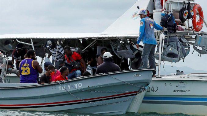 migración haitiana
