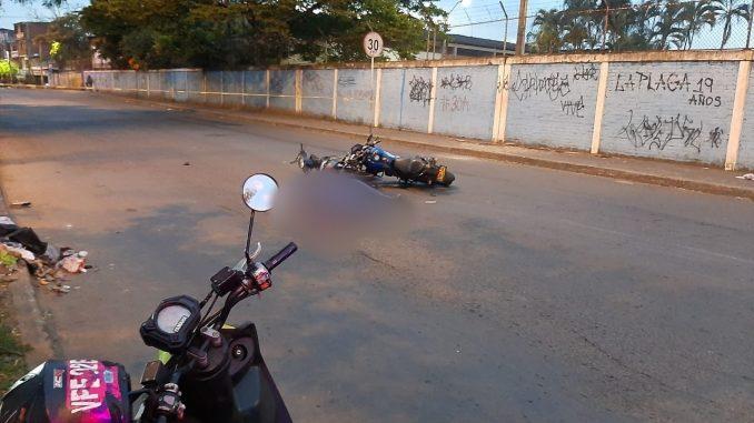 Motociclista murió atropellado esta mañana en Cali