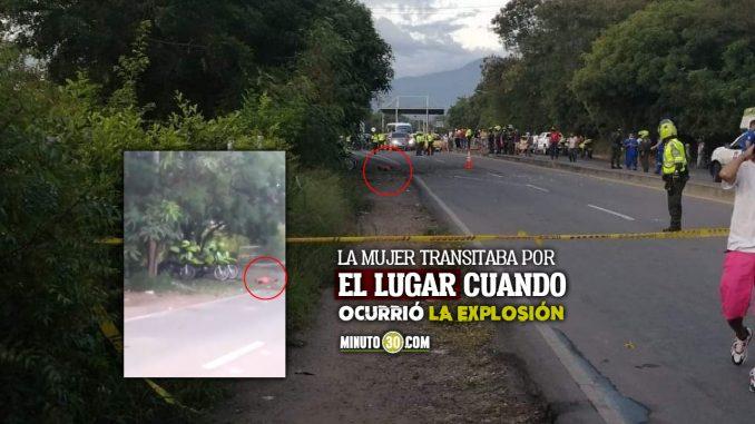Atentado con explosivos en Cúcuta dejó una mujer muerta y dos patrulleras heridas