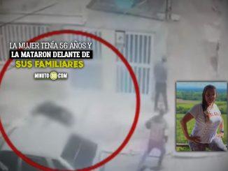 Misterioso asesinato de una mujer que iba llegando a su casa