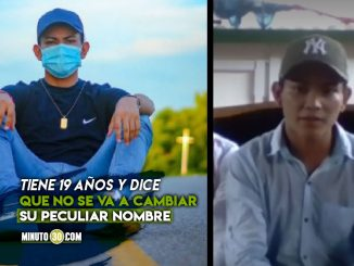 ¡Se llama 6! Este es el joven que tendría el nombre más corto de Colombia