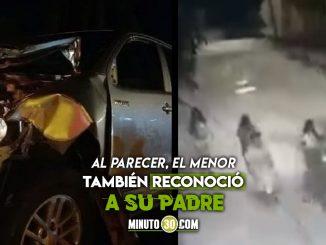 Menor herido en accidente en Santa Marta ya abrió sus ojos