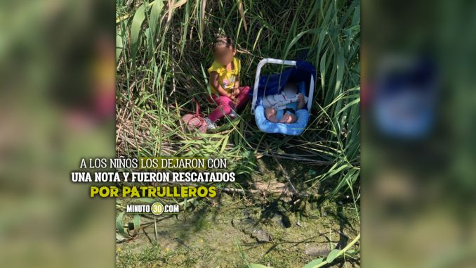 Encontraron a una niña y a un bebé abandonados en un río