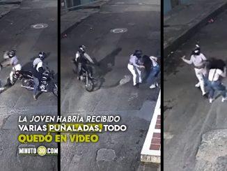 Parrillera acuchilló a joven en plena calle de Ibagué